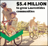 More than $5.4 million given to Laurentides community and members