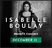 The caisse's 33rd benefit concert