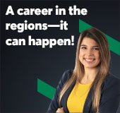 A career in the regions—it can happen!
